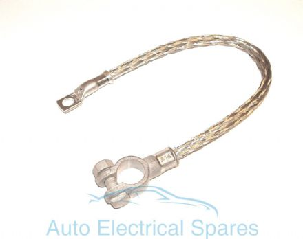 UNIVERSAL braided battery lead / earth strap 300mm